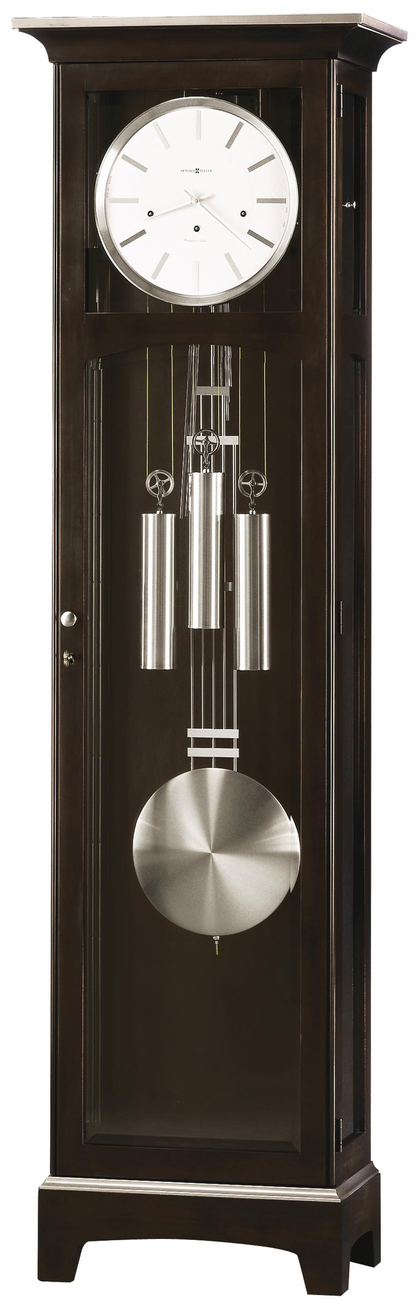Urban II Floor Clock by Howard Miller at HomeWorld Furniture