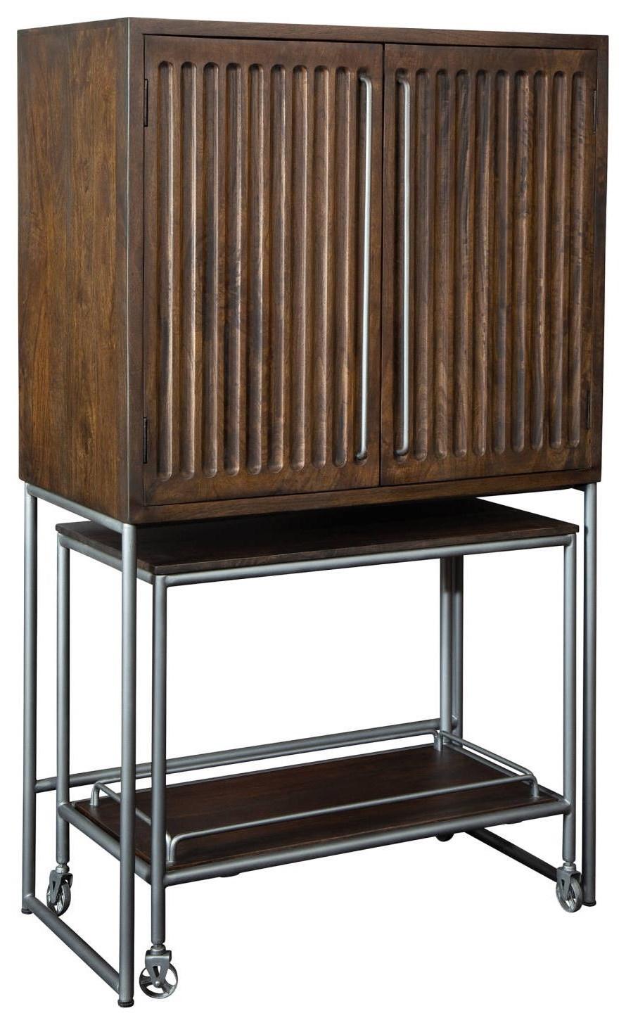 Wine & Bar Furnishings Bar & Wine Cabinet w/ Cart at Rotmans