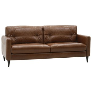 Mid-Century Modern Sofa with Track Arms