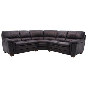 HTL 1116 Leather Sectional