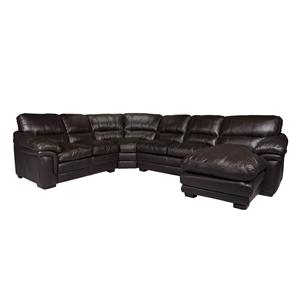 Morris Home Furnishings 2736 Sectional with Right Chaise