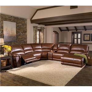 HTL 2678CS Reclining Sectional Sofa