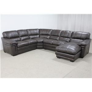 HTL 2736 Sectional with Right Chaise