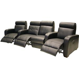 HTL 8071 Leather Theater Seating Group