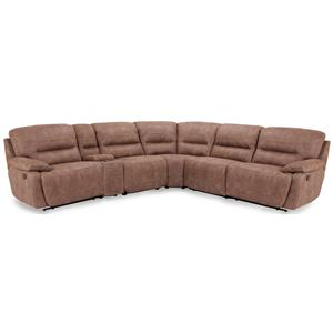 Contemporary Power Reclining Sectional