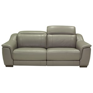 Contemporary Power Reclining Sofa