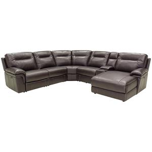 HTL 9748 Reclining Sectional Sofa