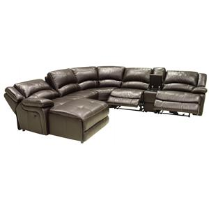 HTL T118CS Entertainment Sectional with Left Chaise