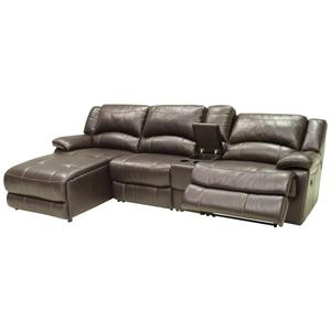 HTL T118CS Small Sectional with Left Chaise