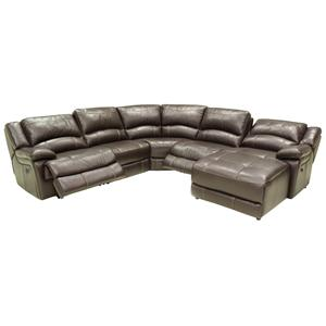 HTL T118CS Reclining Sectional Sofa
