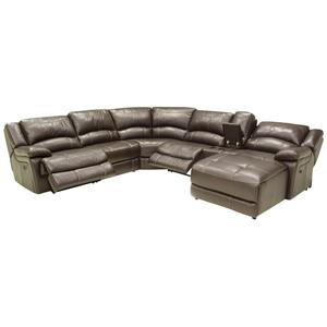 HTL T118CS Sectional Sofa with Chaise