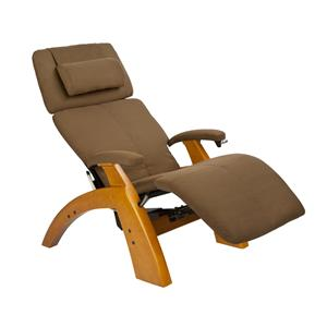 Human Touch Perfect Chair Recliners Classic Power Recliner with Maple Base