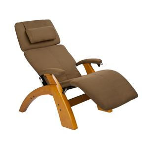 Human Touch Perfect Chair Recliners Manual Recliner with Maple Base