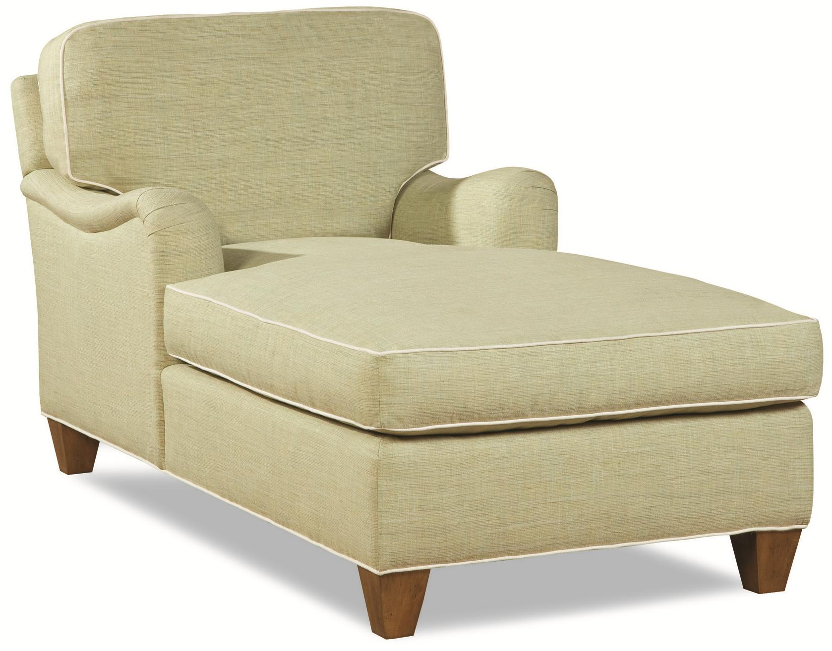 2041 Customizable Chaise by Geoffrey Alexander at Sprintz Furniture