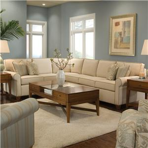 Huntington House 2043 Sectional Sofa
