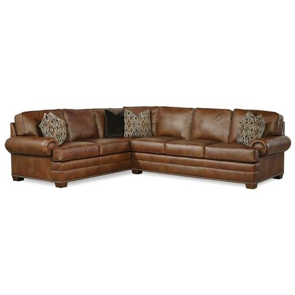 2061 Sectional by Geoffrey Alexander at Sprintz Furniture