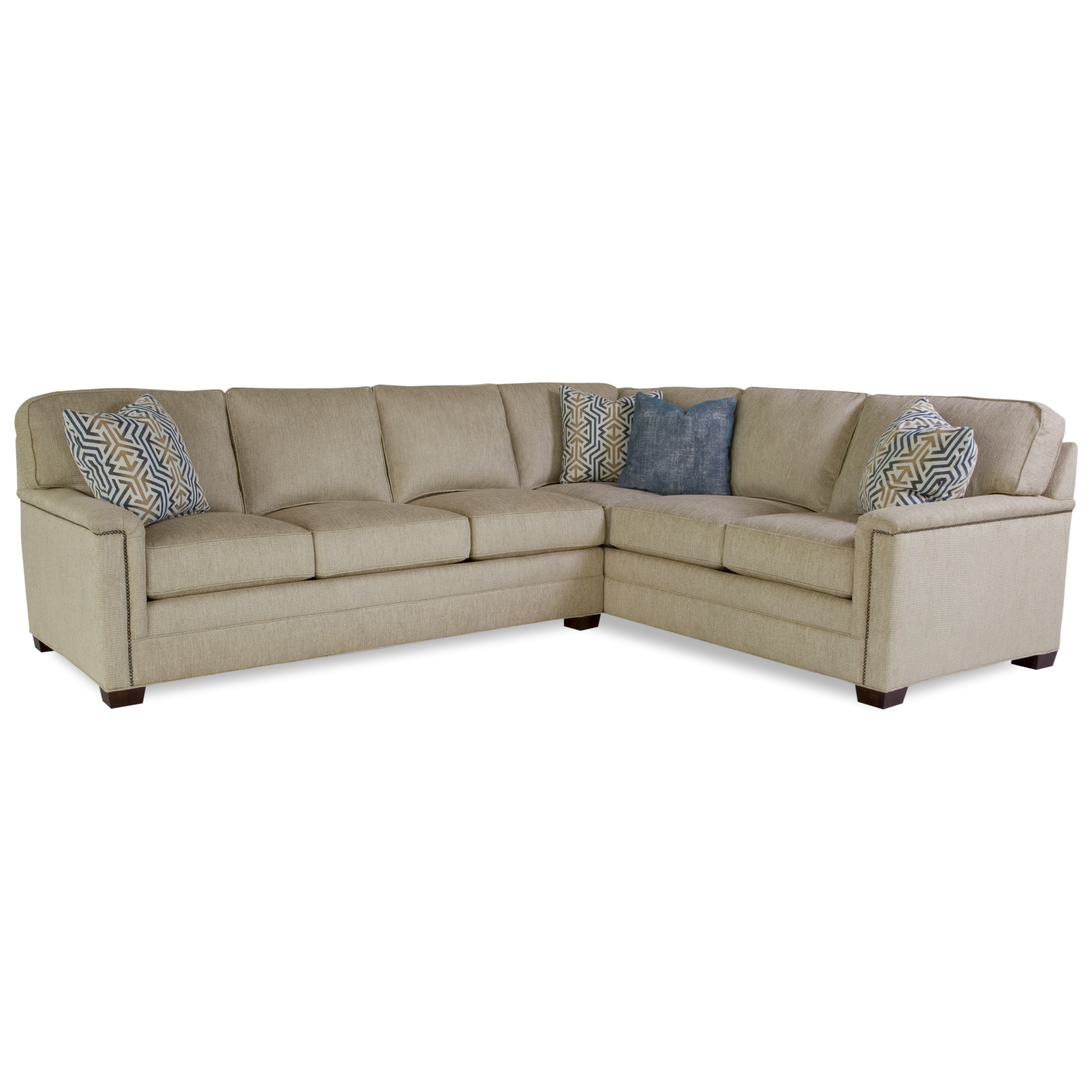 2062 Customizable Sectional by Geoffrey Alexander at Sprintz Furniture
