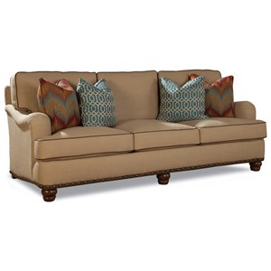Customizable Traditional Sofa