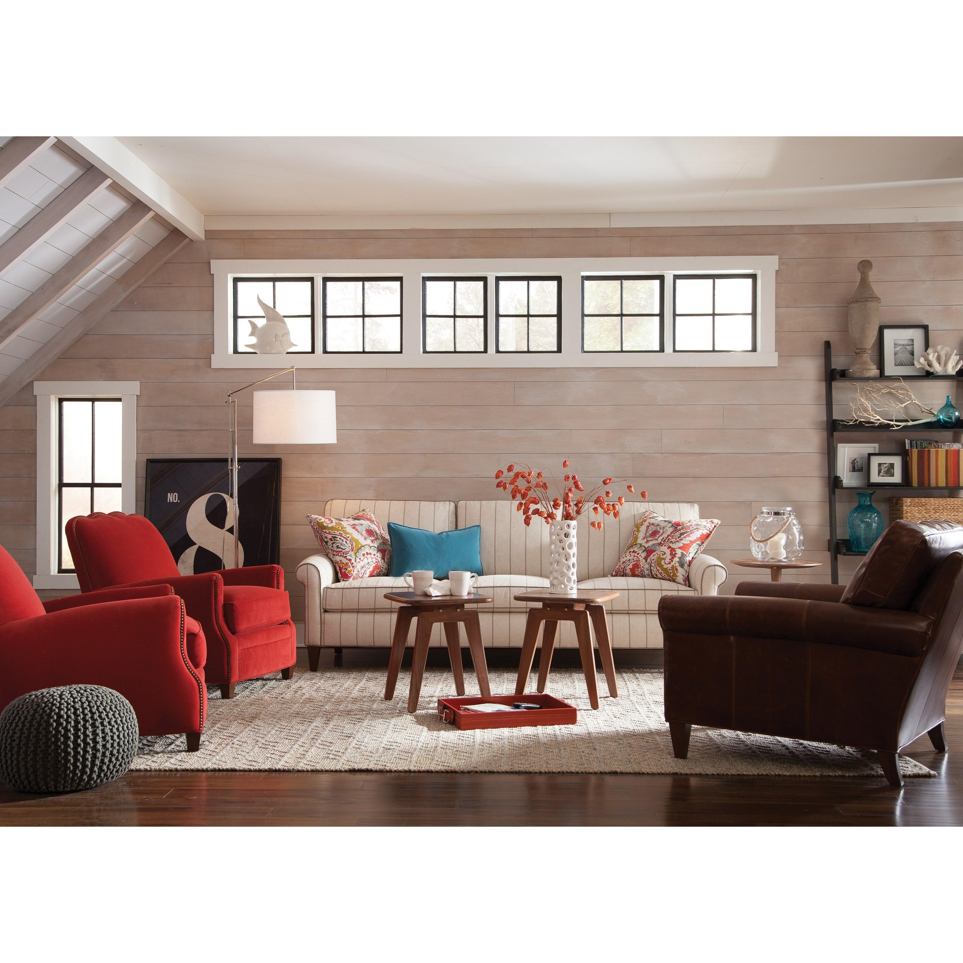 Harper Living Room Group by Huntington House at Belfort Furniture