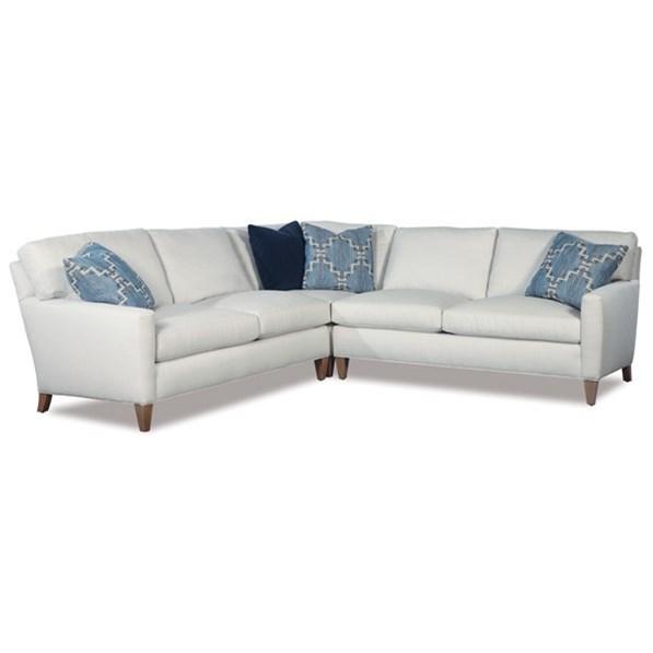2100 3 Pc Sectional Sofa by Geoffrey Alexander at Sprintz Furniture
