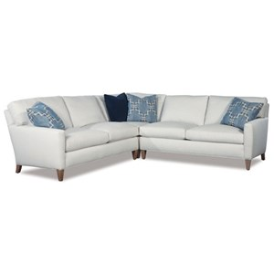 Modern Three Piece Corner Sectional Sofa
