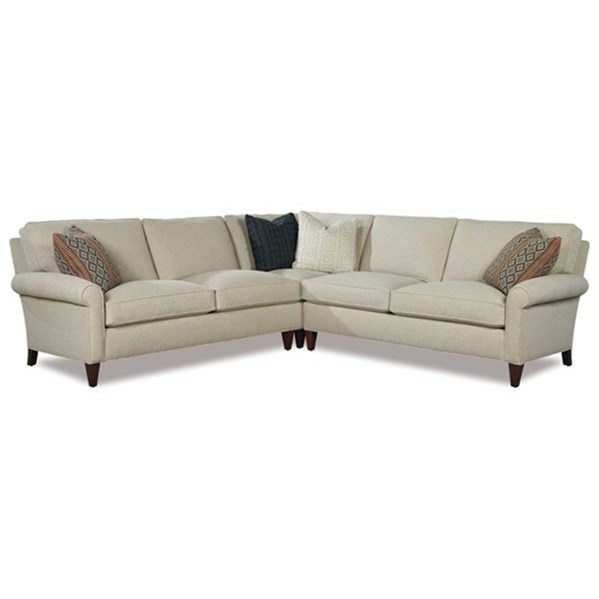 Harper 3 Pc Sectional Sofa by Huntington House at Belfort Furniture