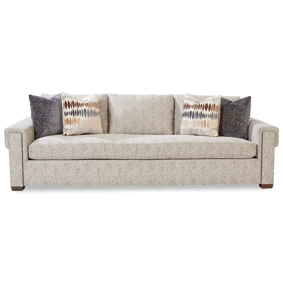 Plush Sofa by Huntington House at Belfort Furniture