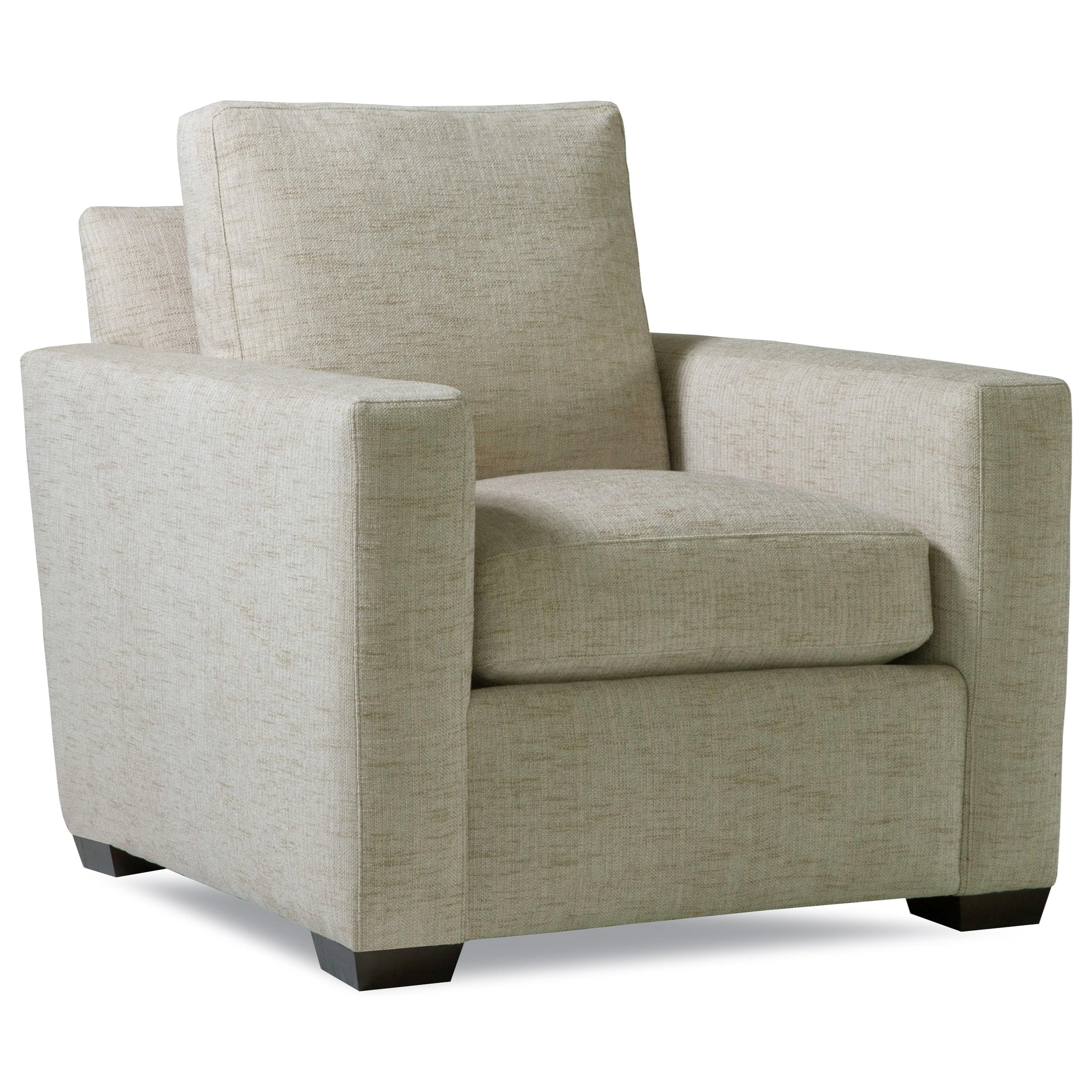 Plush Chair w/ Track Arms by Geoffrey Alexander at Sprintz Furniture