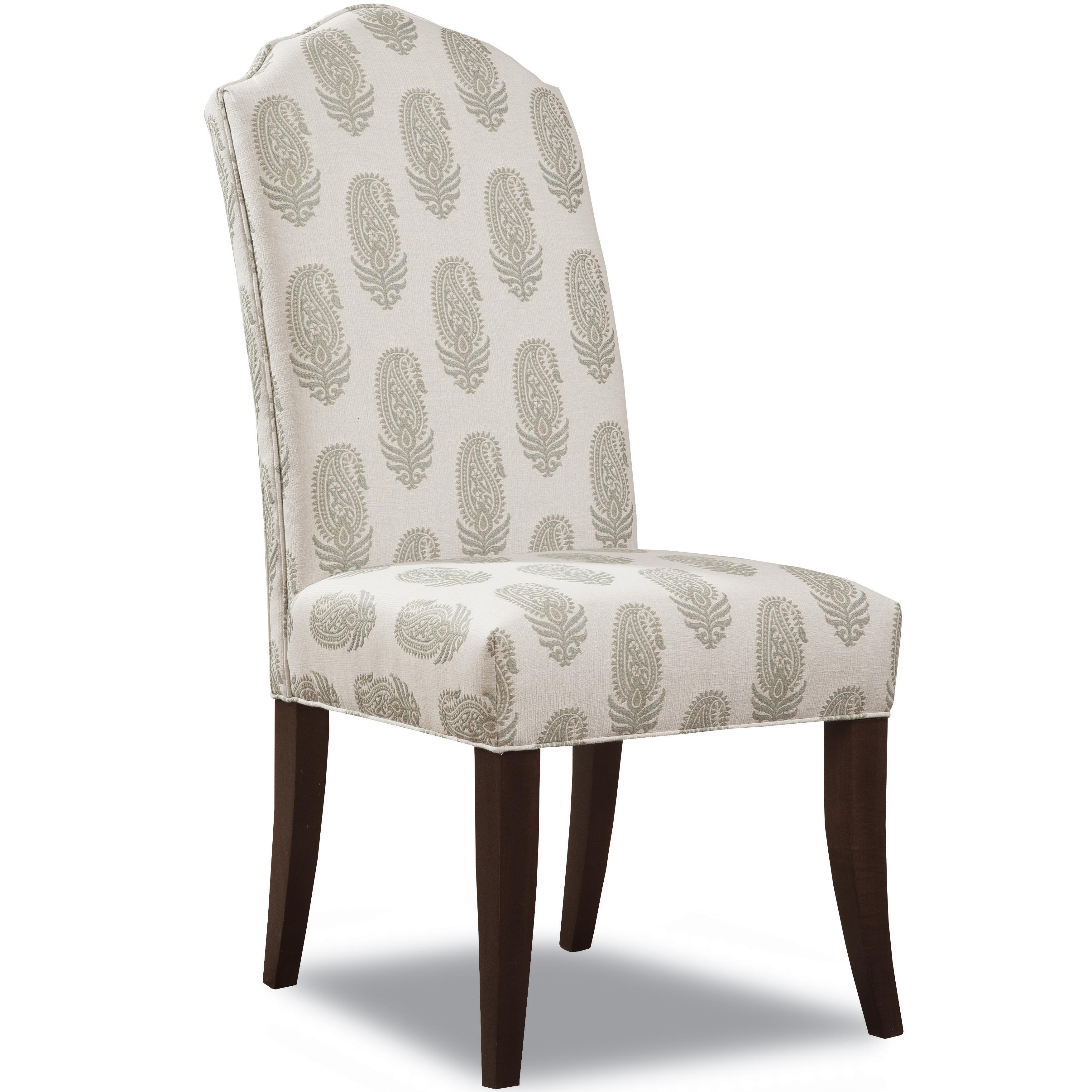 2407 Upholstered Dining Side Chair by Geoffrey Alexander at Sprintz Furniture