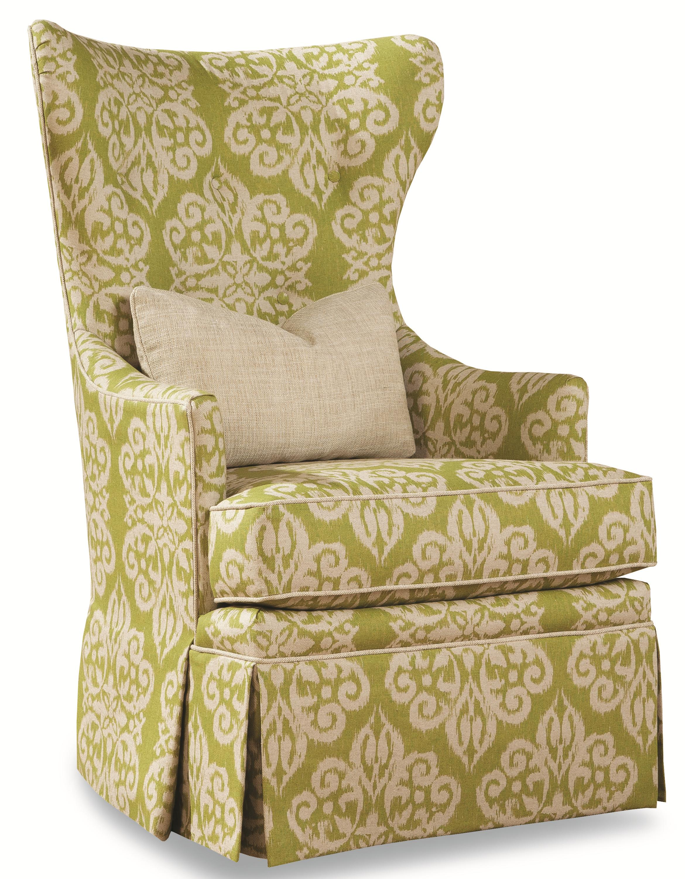3392 Traditional Swivel Chair by Huntington House at Baer's Furniture
