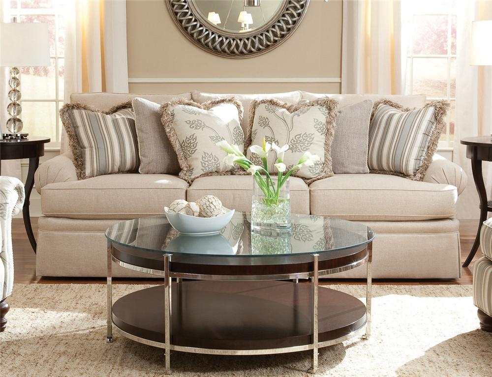 2081 Sofa with Rolled Arm by Huntington House at Belfort Furniture