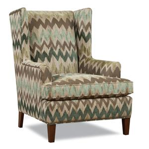Brennan Wing Chair by Huntington House at Belfort Furniture