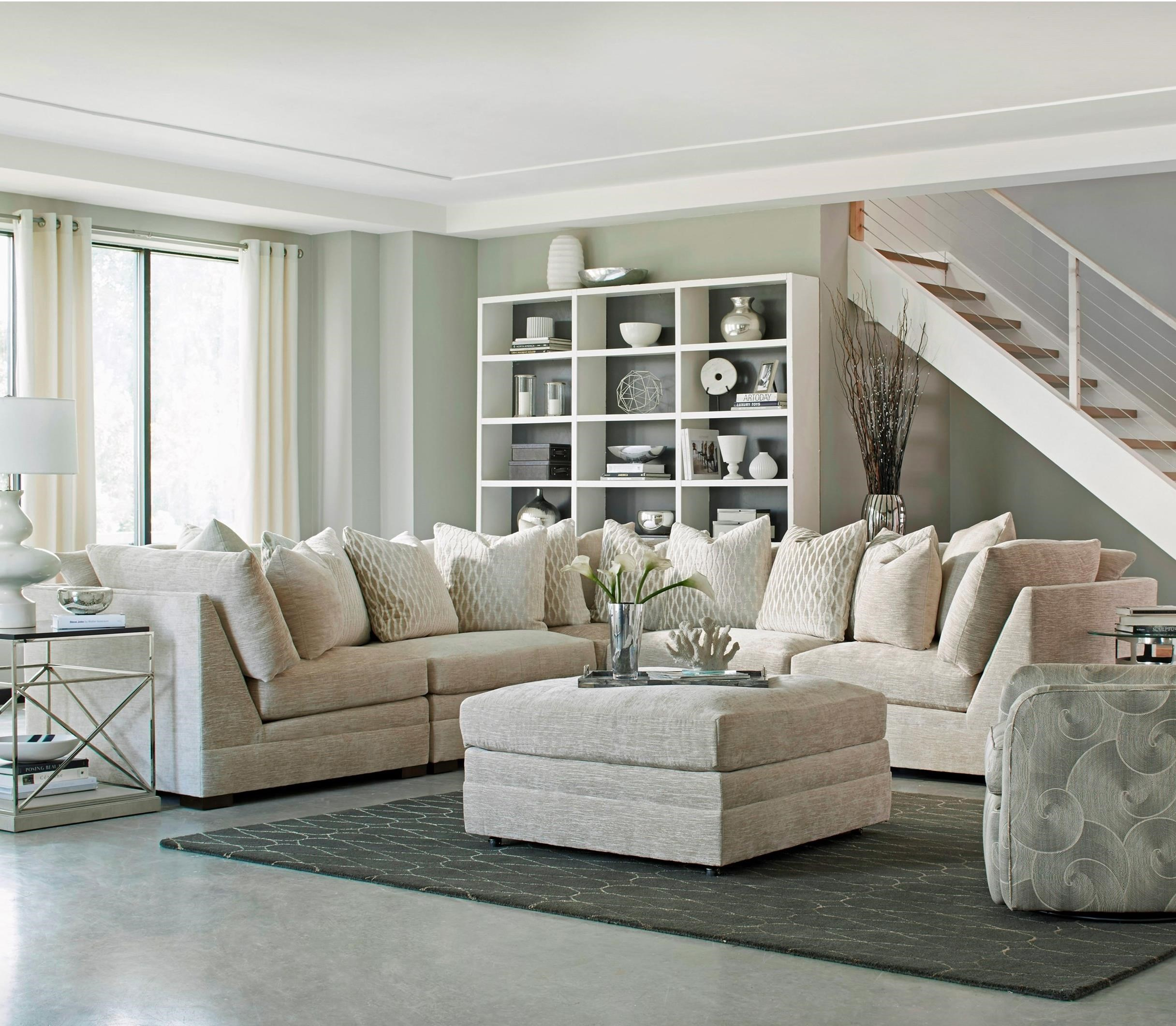 7100 5 Pc Sectional Sofa by Huntington House at Baer's Furniture