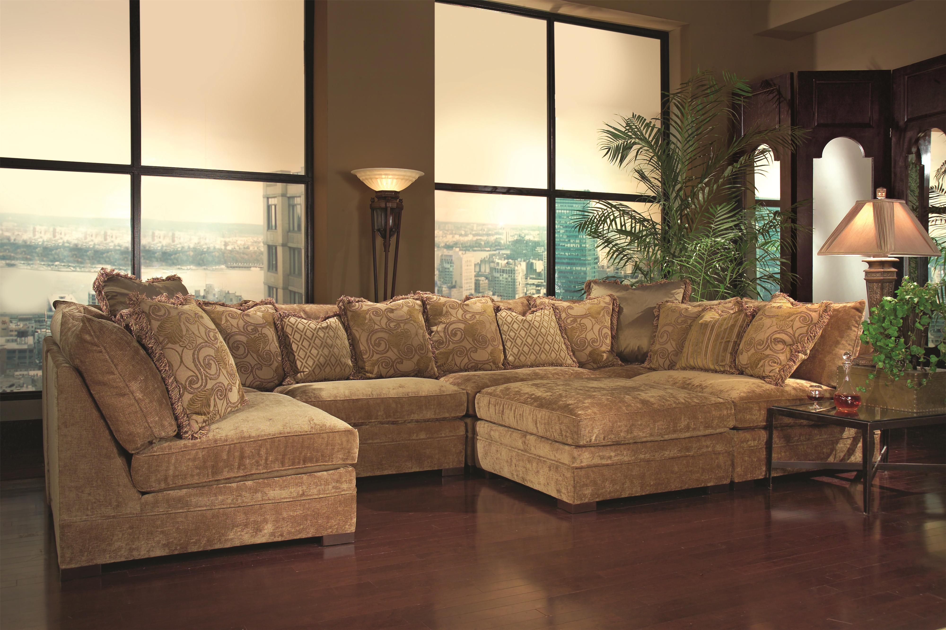 7100 Sectional Sofa by Geoffrey Alexander at Sprintz Furniture