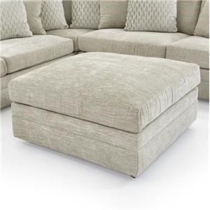 Oversized Square Cocktail Ottoman