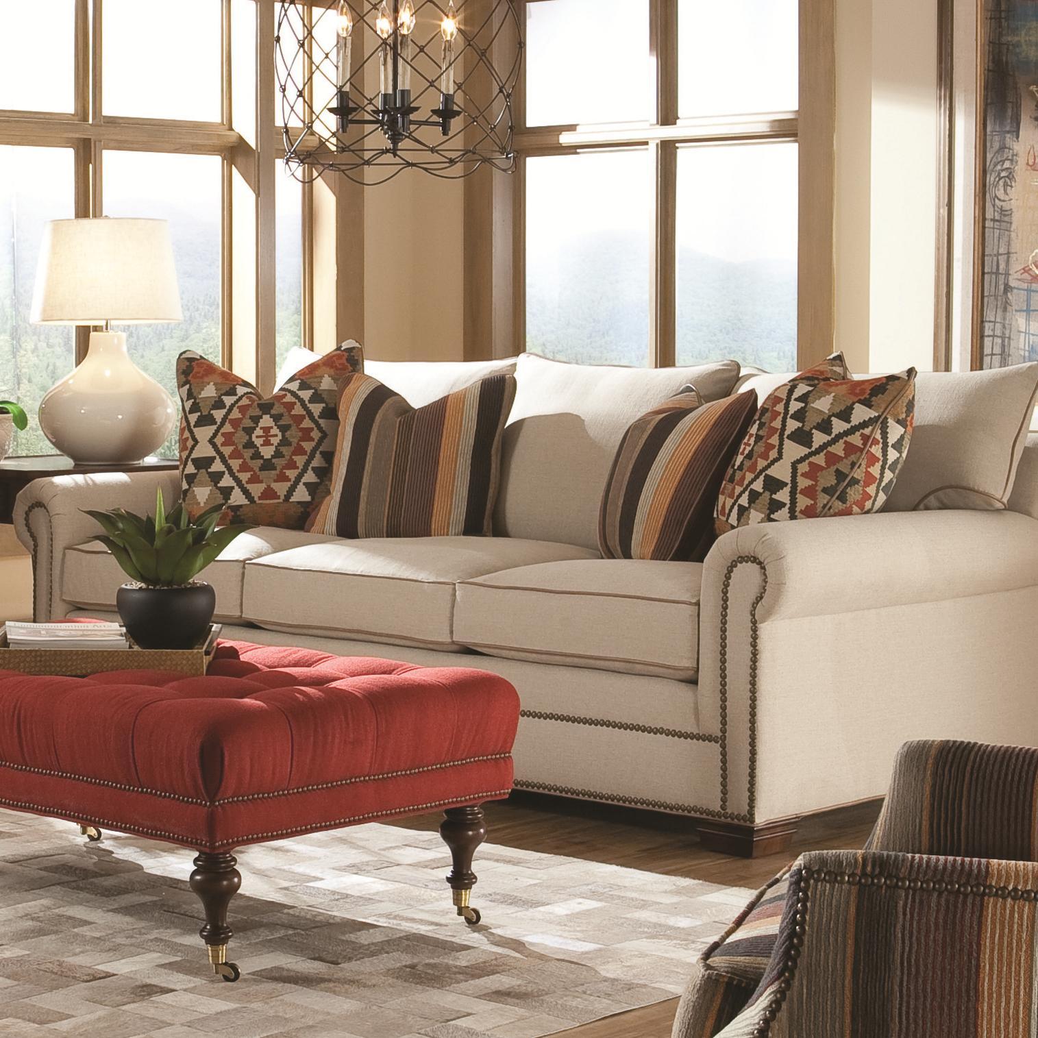 7100 Sofa by Huntington House at Baer's Furniture