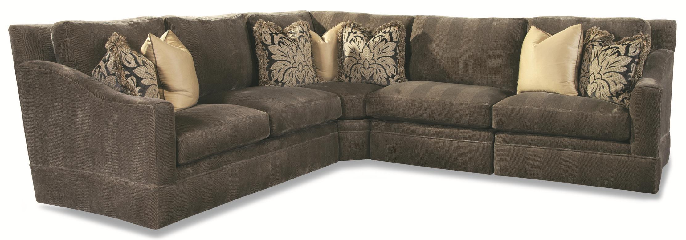 7204 Sectional by Geoffrey Alexander at Sprintz Furniture