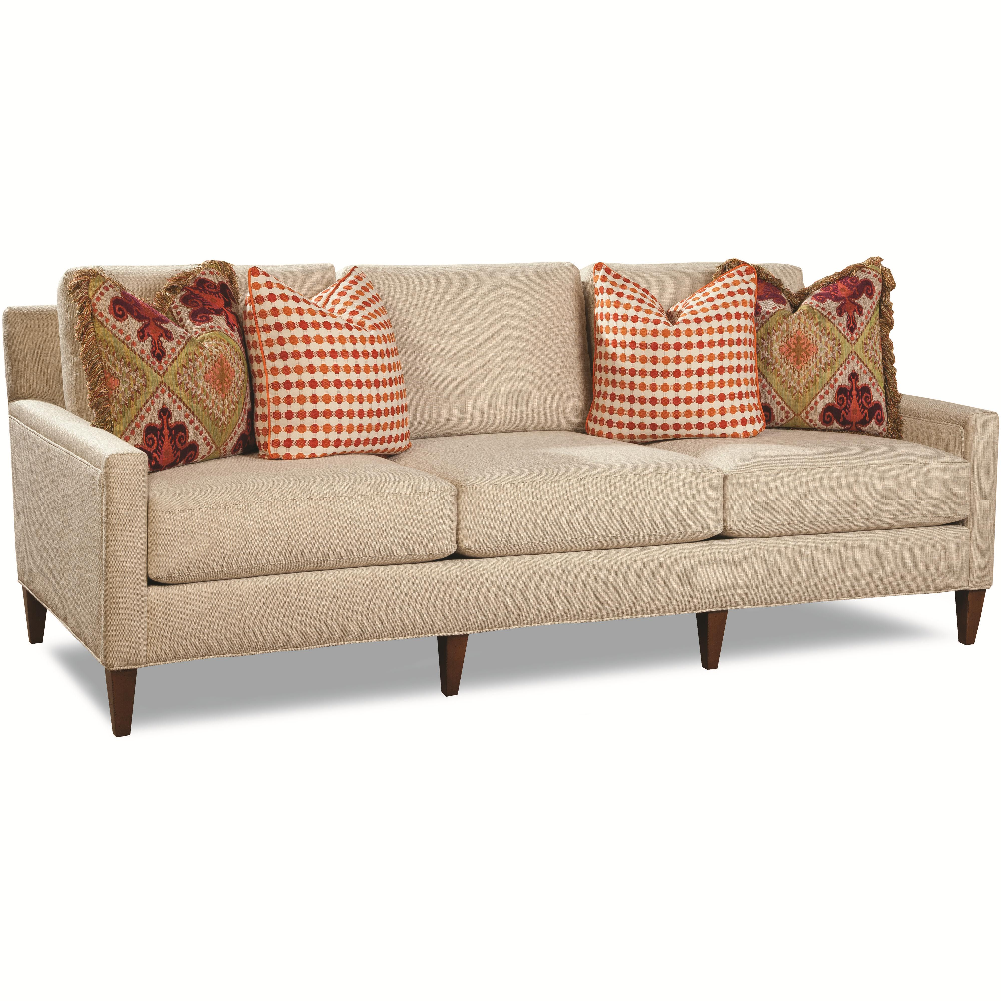 7209 Contemporary Sofa by Huntington House at Belfort Furniture