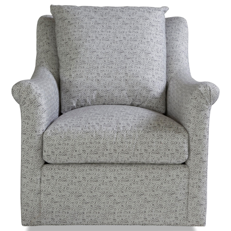 7240 Collection Swivel Chair by Geoffrey Alexander at Sprintz Furniture