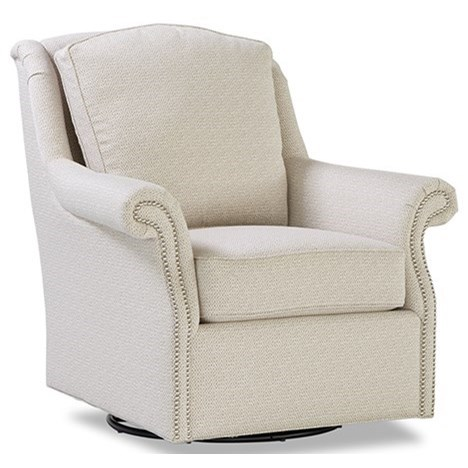 7274 Swivel Glider Chair by Huntington House at Belfort Furniture
