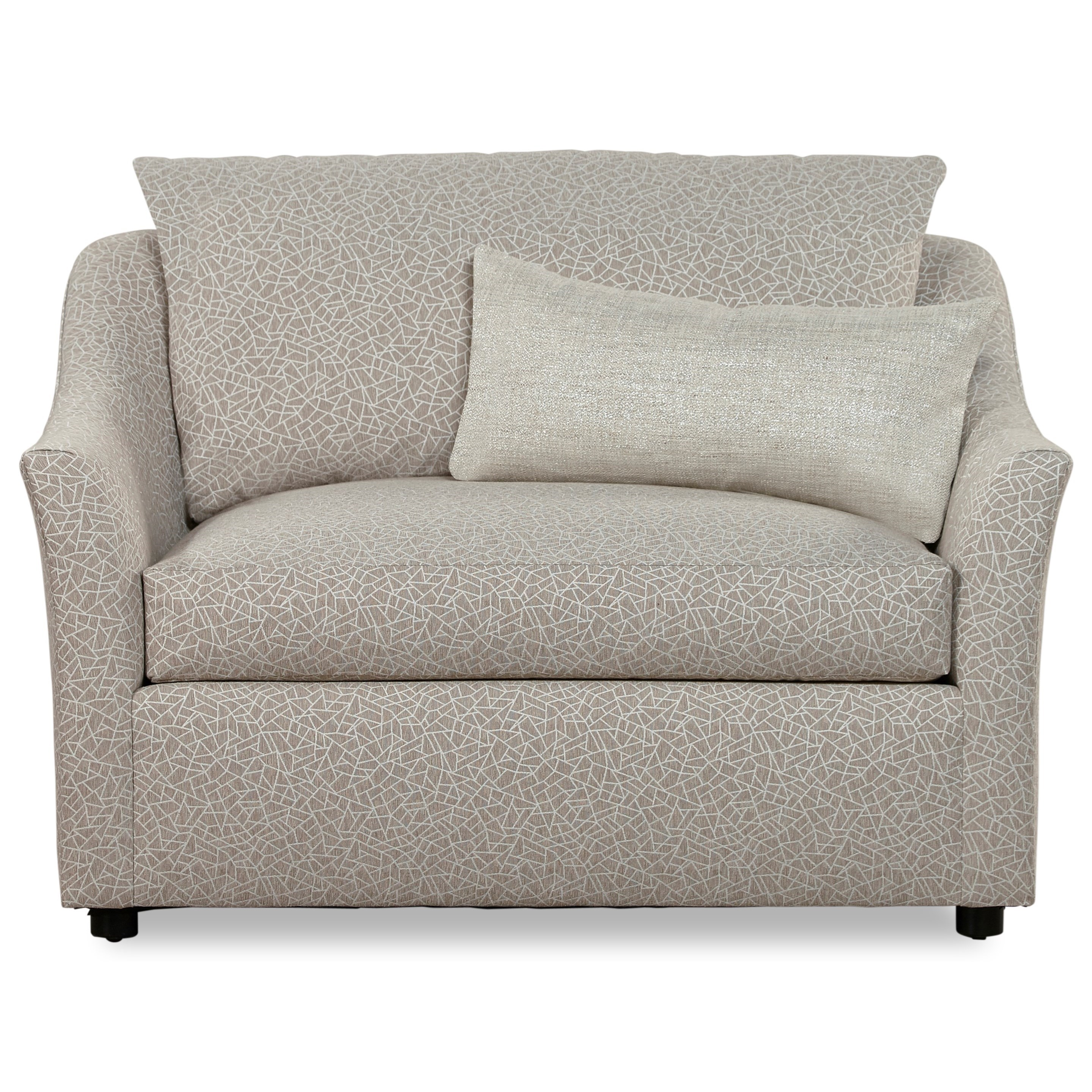 7278 Upholstered Chair and a Half by Huntington House at Belfort Furniture