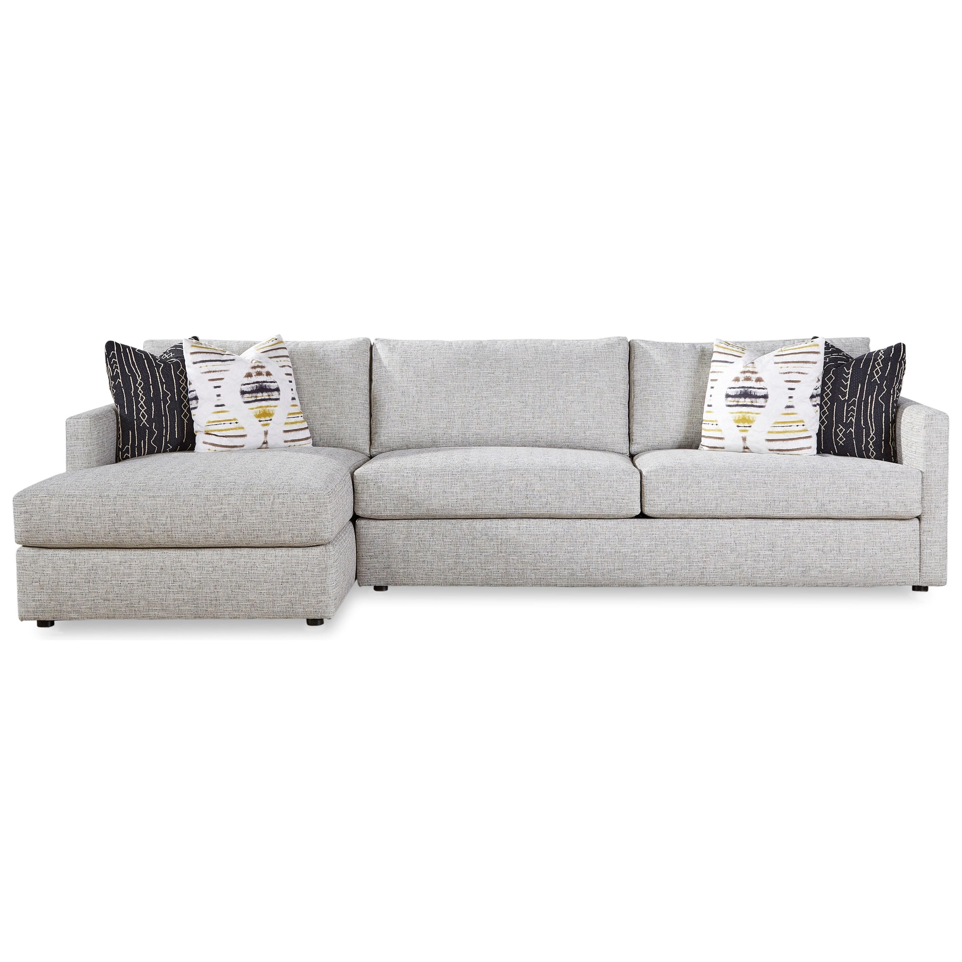 7284 Sofa Chaise by Geoffrey Alexander at Sprintz Furniture