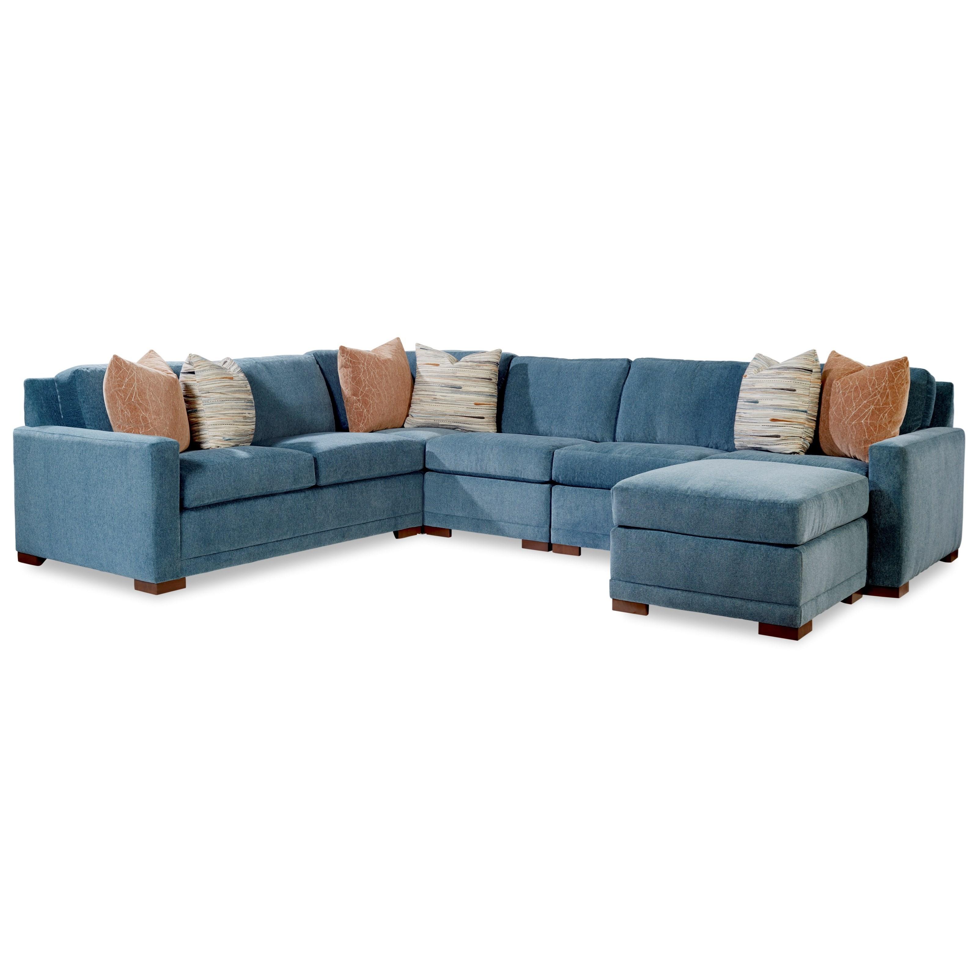 7290 Sectional by Geoffrey Alexander at Sprintz Furniture