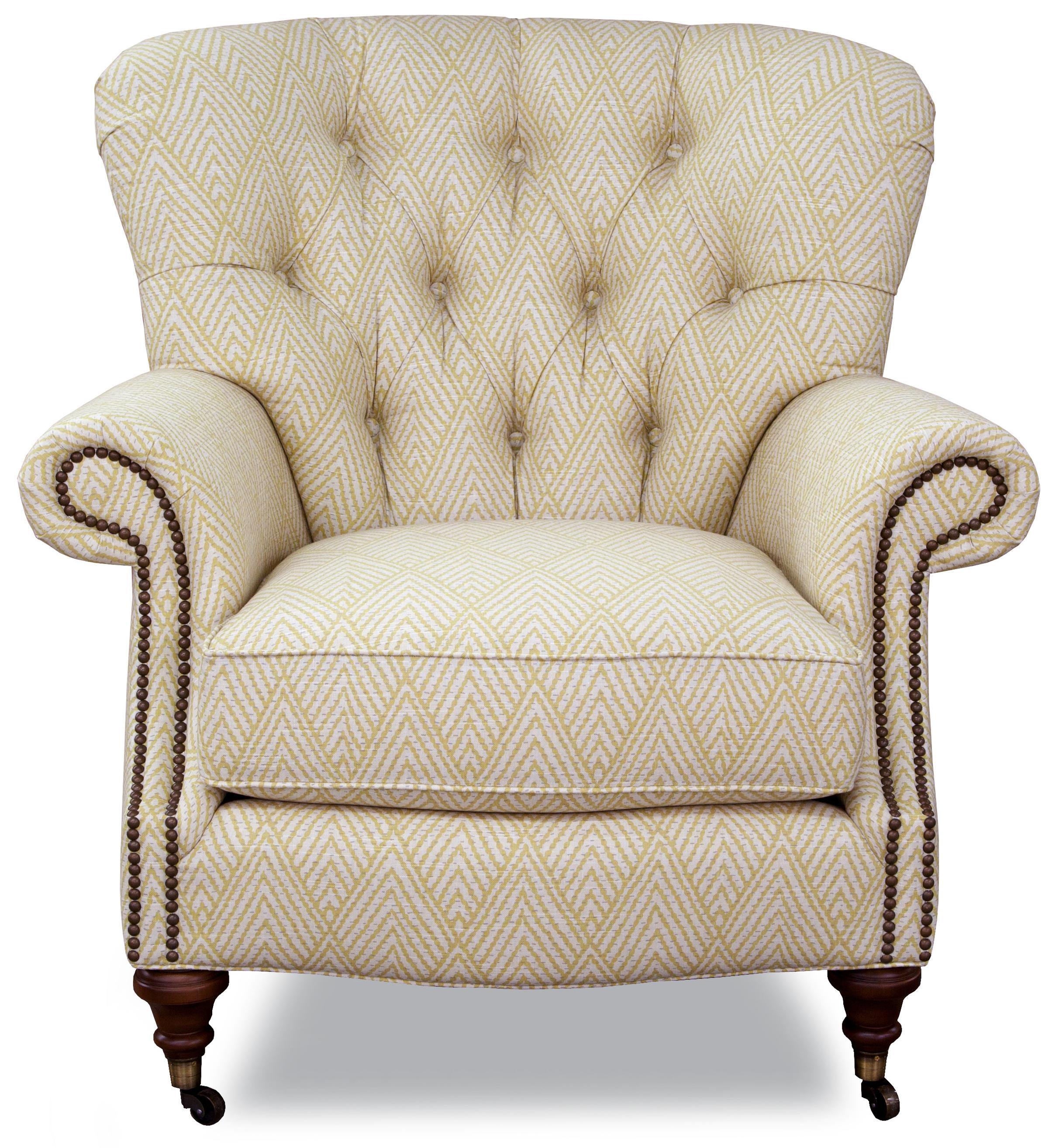 7366 Upholstered Chair by Geoffrey Alexander at Sprintz Furniture