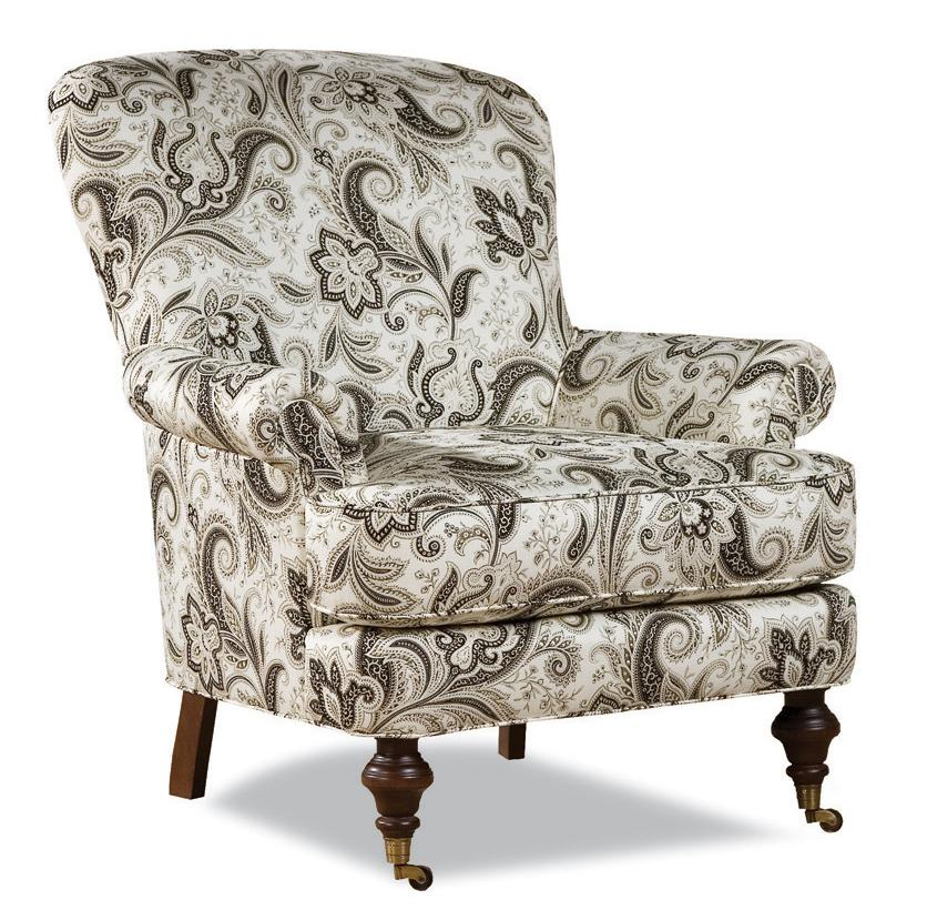 7384 Chair w/ Casters by Huntington House at Belfort Furniture