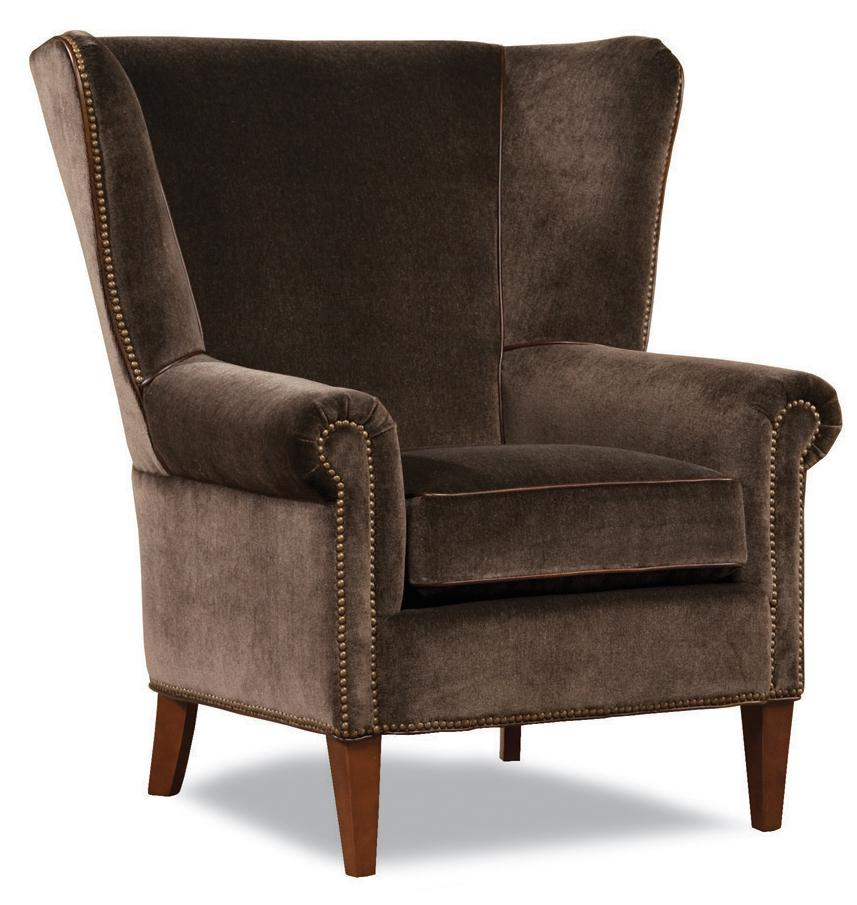 7418 Wing Chair by Geoffrey Alexander at Sprintz Furniture