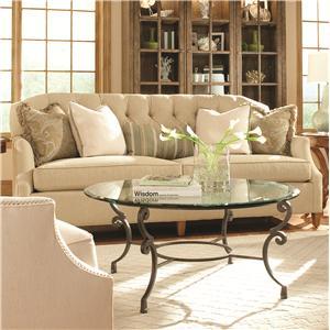 Huntington House 7438 Stationary Sofa