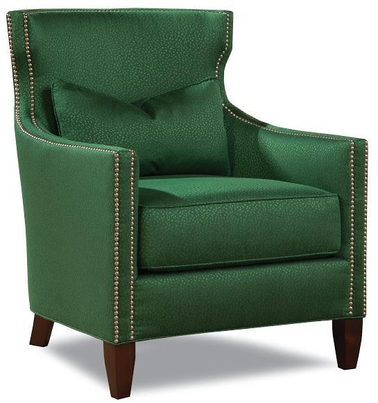 7451 Upholstered Chair by Geoffrey Alexander at Sprintz Furniture