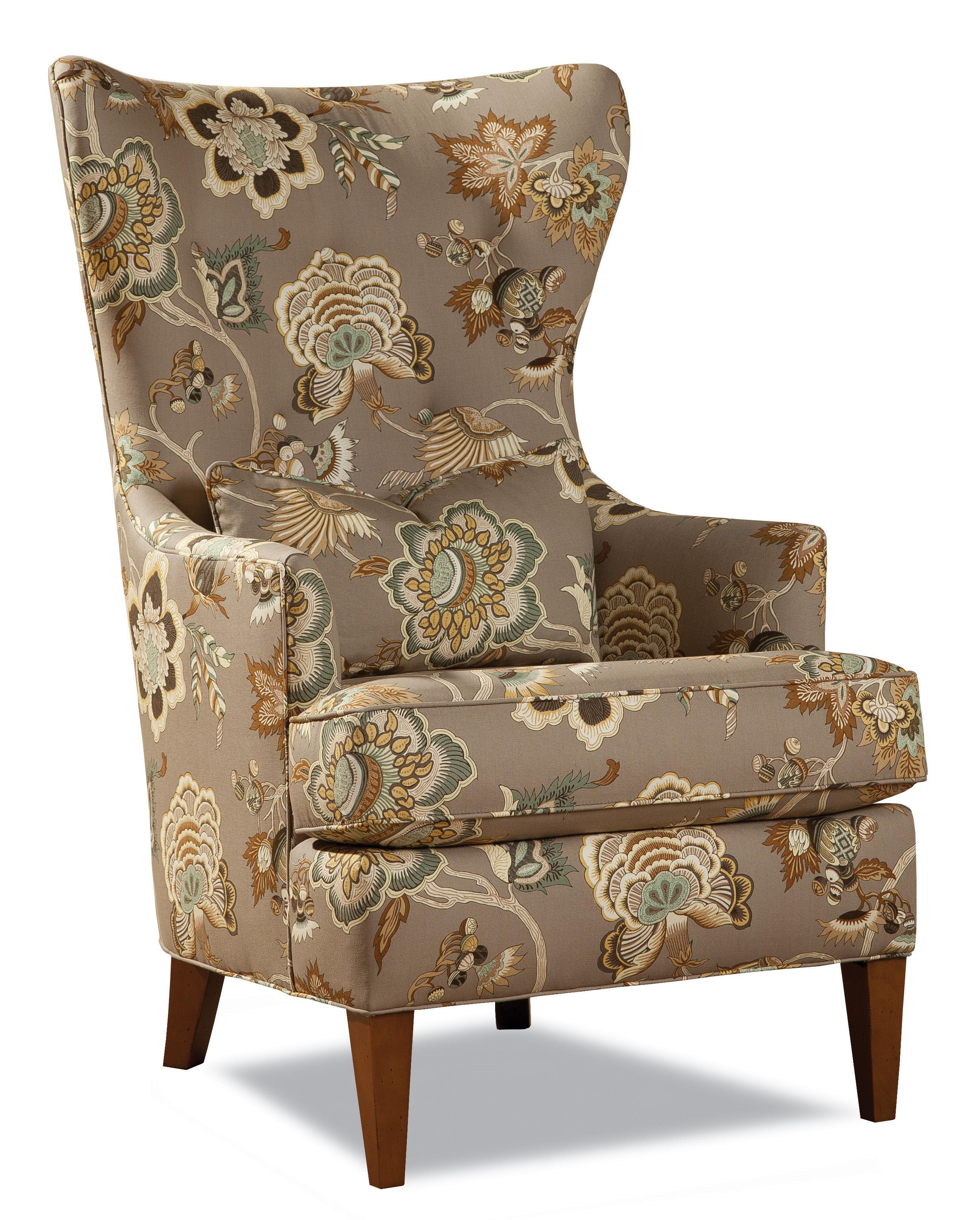 7460 Wing Chair by Geoffrey Alexander at Sprintz Furniture