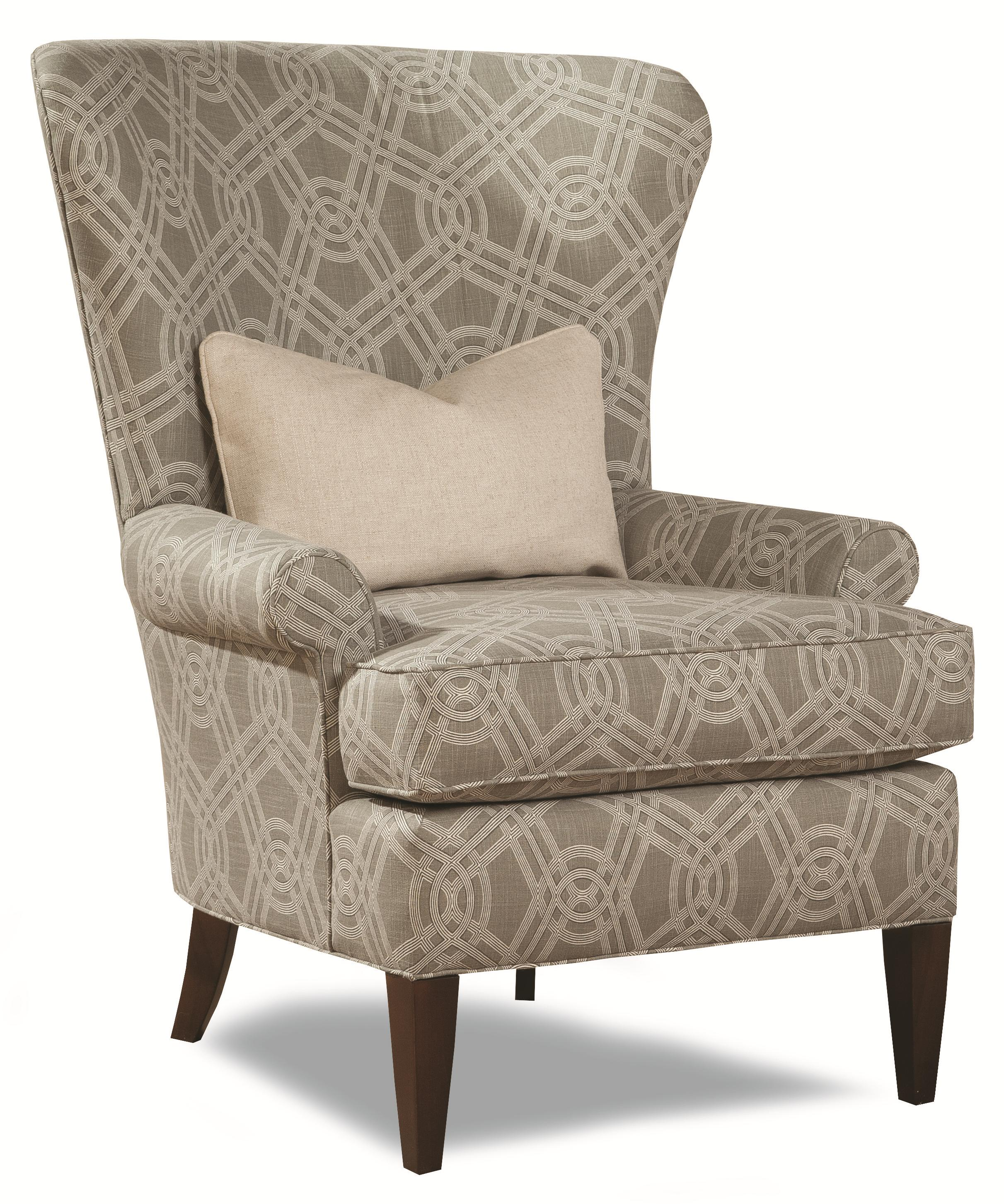 7491 Traditional Accent Chair by Geoffrey Alexander at Sprintz Furniture
